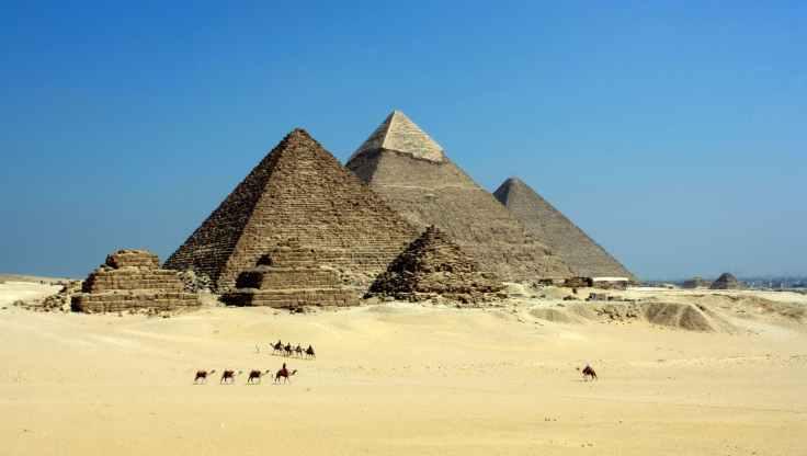 sand desert blue sky egypt